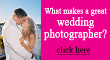What Makes a Great Wedding Photographer
